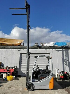 £6400 • Buy Still Rx20-15. Used 3 Wheel Electric Forklift.