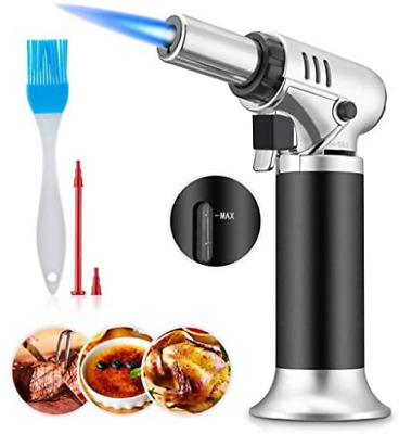 £14.40 • Buy MARQUEEN Blow Torch, Professional Kitchen Cooking Torch With Safety Lock & Fuel
