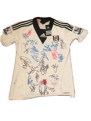 £37 • Buy Fulham Squad Hand Signed Shirt 2014/15 Season (with Tags)