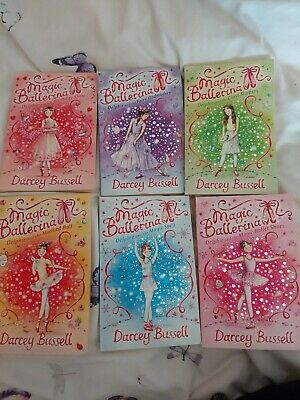 £6.50 • Buy Darcey Bussell Magic Ballerina Books Set 1-6 Good Condition  Age 5+