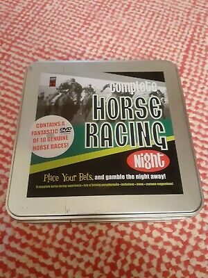 £5 • Buy Complete Horse Racing Night. Box Have Been Opened But Unused And Inside Sealed.