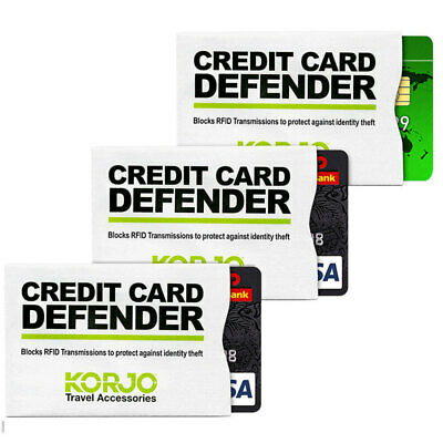 AU7 • Buy RFID Shield 3pk Credit Smart Card Defender Shielding Theft Protection Security