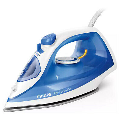 AU53 • Buy Philips Steam Electric Iron EasySpeed Plus 2000W F/ Ironing Clothes/Garment Blue