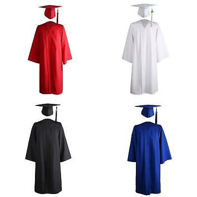 £18.11 • Buy LY_ 2021 Adult University Academic Graduation Gown Robe Mortarboard  Charm Can