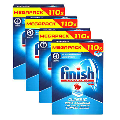 AU79.95 • Buy 440pc Finish Powerball Classic Megapack Dishwasher Pods/Tablets Cleaning/Dishes
