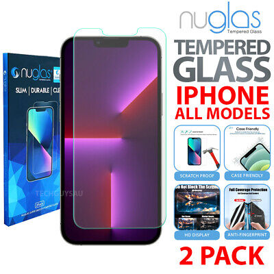 AU8.95 • Buy 2x Fr Apple IPhone 13 12 11 Pro XS Max XR 8 Plus Tempered Glass Screen Protector