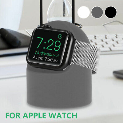 AU13.13 • Buy Silicone Charger Charging Stand Holder Mount For Apple Watch .