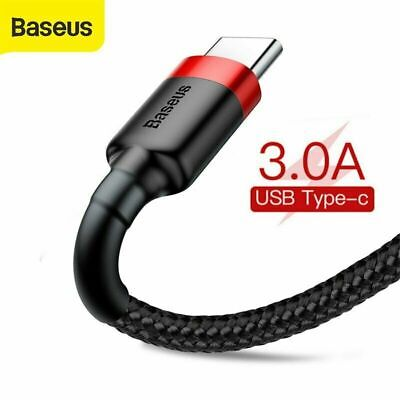 AU7.90 • Buy Baseus USB To Type C Charger Cable 3A Fast Charging Lead Data Cord For Samsung