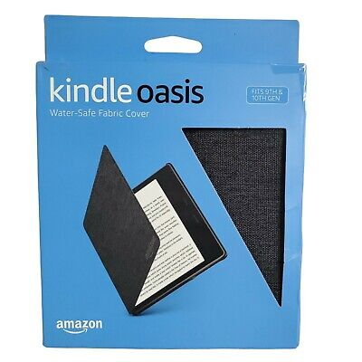 AU26.62 • Buy Amazon Kindle Oasis Water Safe Fabric Cover 9th & 10th Gen Charcoal Black