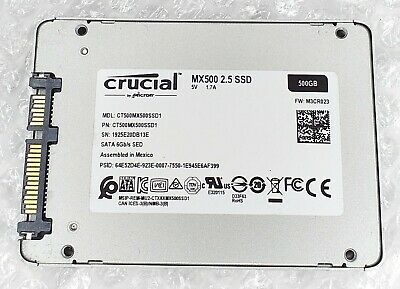 £39.99 • Buy 500GB CRUCIAL CT500MX500SSD1 MX500 7mm 2.5  Solid State Drive SSD
