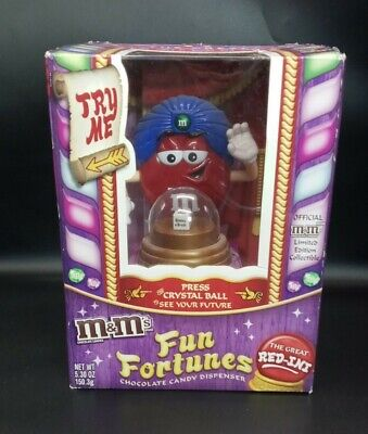 £14.49 • Buy M&M Fun Fortunes Chocolate Candy Dispenser New In Box