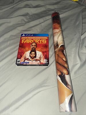AU226.34 • Buy NEW Far Cry 6 Gold Steelbook Edition- Playstation 4 PS4 / PS5 UPGRADE W/ Poster
