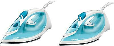 AU105.99 • Buy Philips GC1028/20 2000 W Steam Iron ( Blue ,Pack Of 2 )-s7B