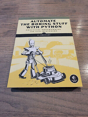 AU21.12 • Buy Automate The Boring Stuff With Python, 2nd Edition: Practical Programming... C