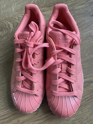 AU14.82 • Buy Brand New Adidas Pink Superstar Trainers Size UK 5