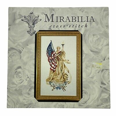 £253.64 • Buy Mirabilia THE LADY OF THE FLAG Cross Stitch Pattern By Nora Corbett OOP