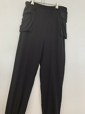 AU52 • Buy Sass And Bide Black Slouch Pants Size 12 BNWT