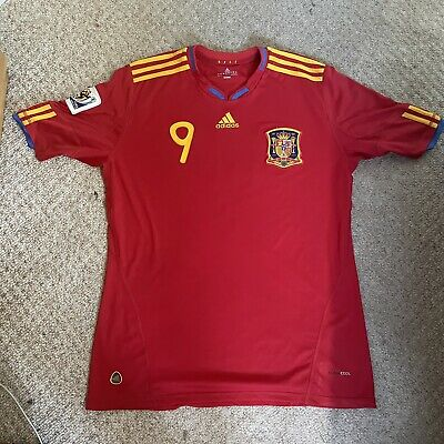 £14.99 • Buy Spain 2010 2011 South Africa Home Football Shirt Jersey Adidas Torres 9 Size Xl