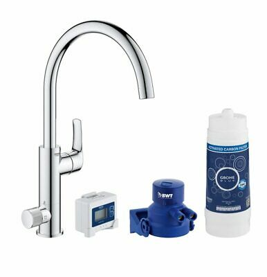 £185.55 • Buy Grohe Blue Pure Chrome Effect Filtered Hot & Cold Water Tap 5533