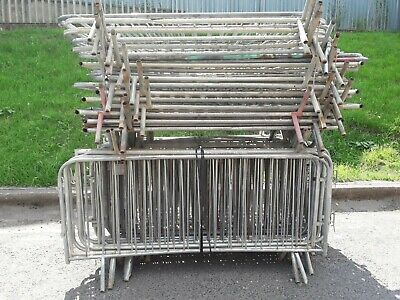£12 • Buy 2.3mtr Fixed Leg Pedestrian / Crowd Control Barriers (Used)