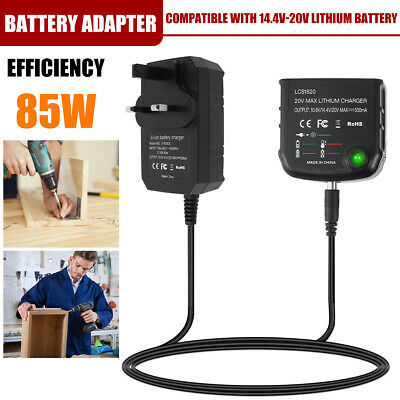 £10.59 • Buy Battery Adapter Converter Power Adaptor Tool Lithium Ion Replacement 14.4-20V