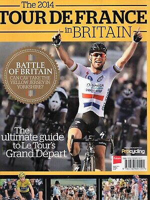 £1 • Buy CYCLING - TOUR DE FRANCE 2014 In Britain - Magazine - Pics/features - Good