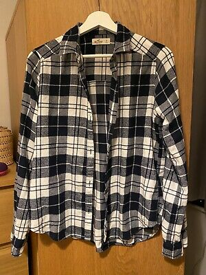 £0.99 • Buy Hollister Brushed Cotton Check Shirt - Small / Women's