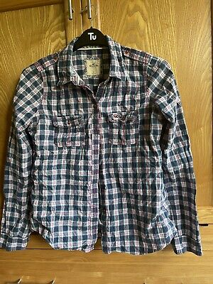 £8 • Buy Ladies Hollister Checked Shirt -Large