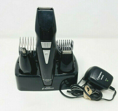 AU119.82 • Buy Phillips Norelco G370 Hair Beard Trimmer + Base + Clipper Attachments All In 1