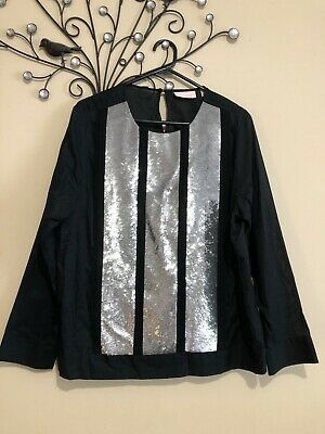 AU57 • Buy Sass And Bide Sz 12 Heavily Sequins Top From The Line By Line Collection As New