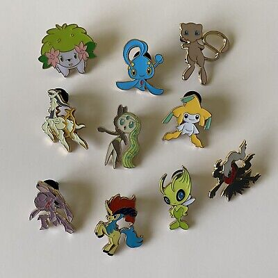 £15.01 • Buy Collection Bundle Of 10 POKEMON Metal Pin Badges From 2016