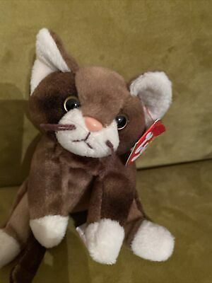 £2 • Buy TY BEANIE BABY- Pounce The Cat. New With Tags. Indonesia