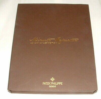 £49.99 • Buy Patek Philippe Minute Repeater Collectible Book Hand Made Paper Sealed