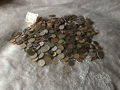£30 • Buy Old Bundle Of Vintage Coins Foreign Money World Coins