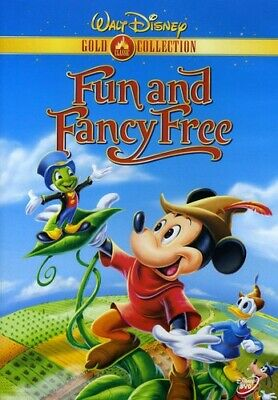 £4.06 • Buy Disney Fun And Fancy Free (DVD, 2000) Mickey And The Beanstalk