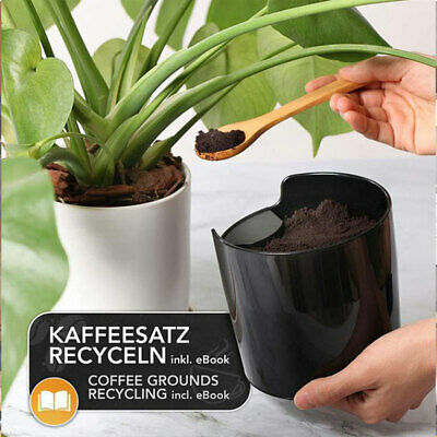 AU15.43 • Buy Coffee Grounds Knock Out Box Espresso Waste Bin Recycle Holder Coffee Knock  MD