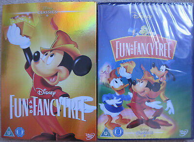 £7.49 • Buy Disney Fun And Fancy Free DVD With O-Ring Slipcover New Sealed MINT CONDITION