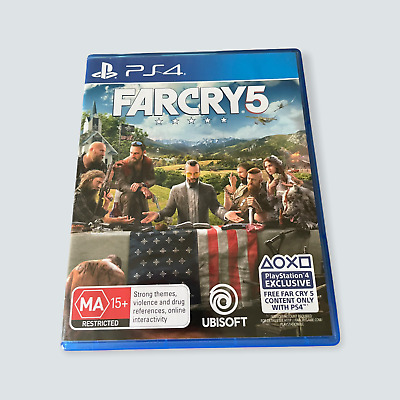 AU19.99 • Buy Far Cry 5 For The Sony PlayStation 4/PS4/PS5 - VGC/AUS/PAL/Ubisoft/Rated MA 🐙