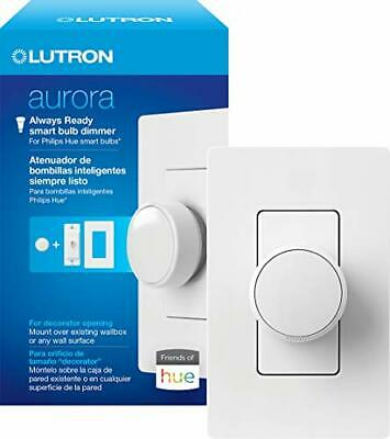 AU89.61 • Buy Lutron Aurora Smart Bulb Dimmer Switch For Paddle Switches | For Philips Hue ...