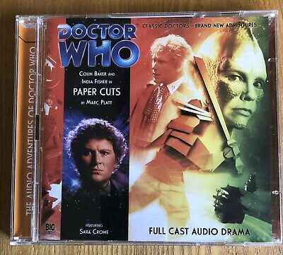 £8.99 • Buy Doctor Who Paper Cuts Big Finish CD In Mint Condition