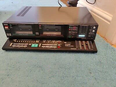 £159.99 • Buy AIWA WX 200 Vintage Double  Cassette Tape Deck Only Tested So Far