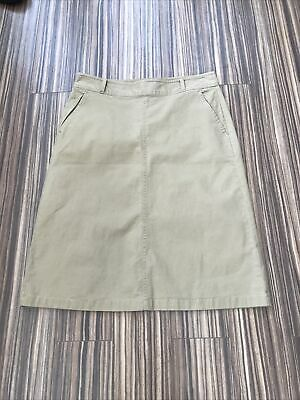 £2.99 • Buy Size 10 Chino Skirt From M&S