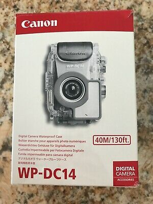 £21.01 • Buy Canon WP-DC14 Waterproof Case For SD750 Digital Camera NEW In BOX