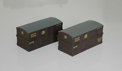 £3 • Buy 2 GWR Conflat Containers Model Railway Wagon Spares