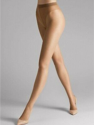 £10.60 • Buy Wolford Luxe 9 Tights, Sand, XL