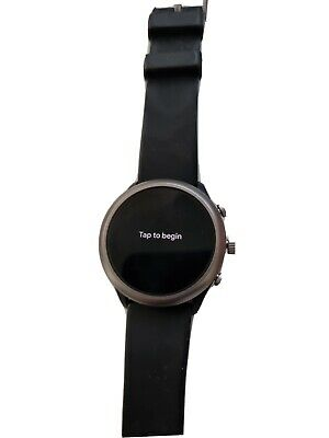 AU65 • Buy Fossil Sport Smartwatch Black Silicone Android Wear FTW4019