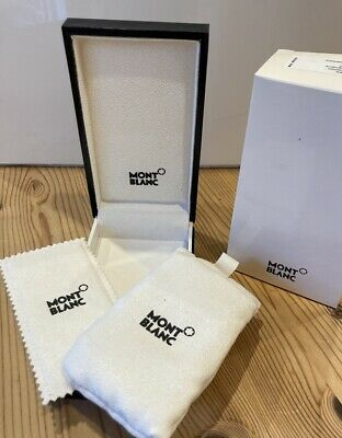 £5.40 • Buy Authentic Mont Blanc Montblanc Key Fob Box (BOX And SLEEVE ONLY)