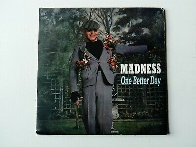 £9.99 • Buy Madness One Better Day 2 Track Poster Sleeve Vinyl 7  + Press Release
