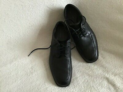 £15 • Buy Mens Shoes Size 7 Black Leather Lace Up Shoe By Rockport