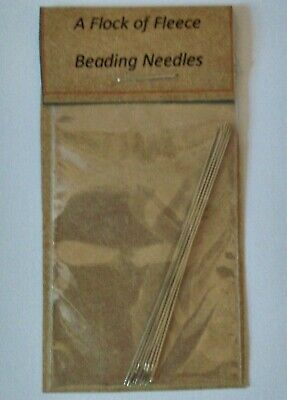 £2.20 • Buy PACK OF 8 BEADING NEEDLES 55 Mm FOR SEED BEADS BEAD NEEDLE CRAFT